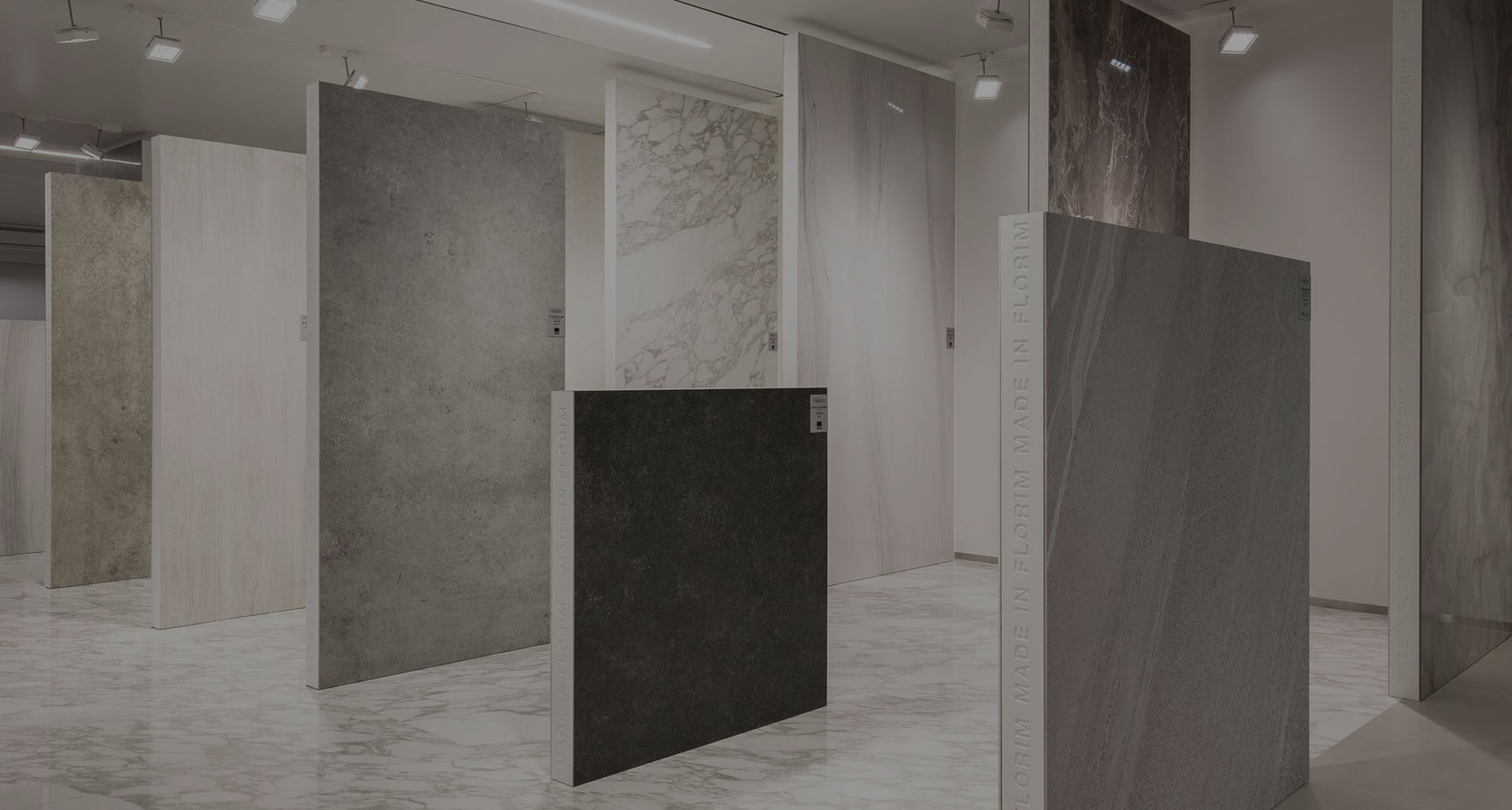 Be Unique Suppliers Florim Italian tiles and porcelain slabs