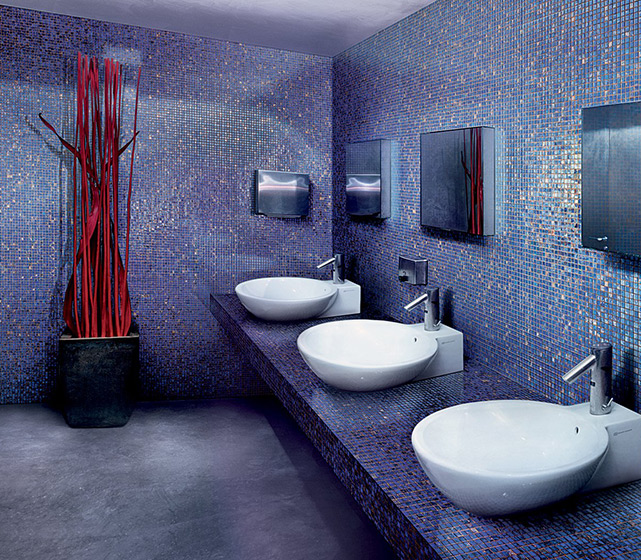 SICIS manufactures high-end contemporary mosaic for wall and floor coverings, furniture and interior decorations